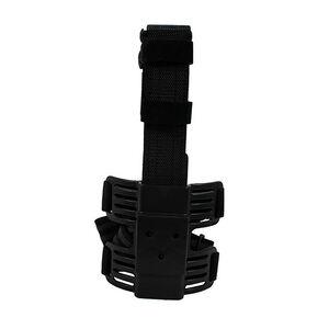 Uncle Mike's Molded Drop Leg Tactical Platform Ambidextrous Kydex Double Leg Strap Black