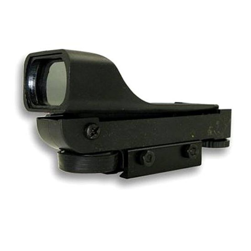 "NcSTAR Red Dot Reflex Optic 3/8"" Dovetail Mount Plastic and Aluminum Black"