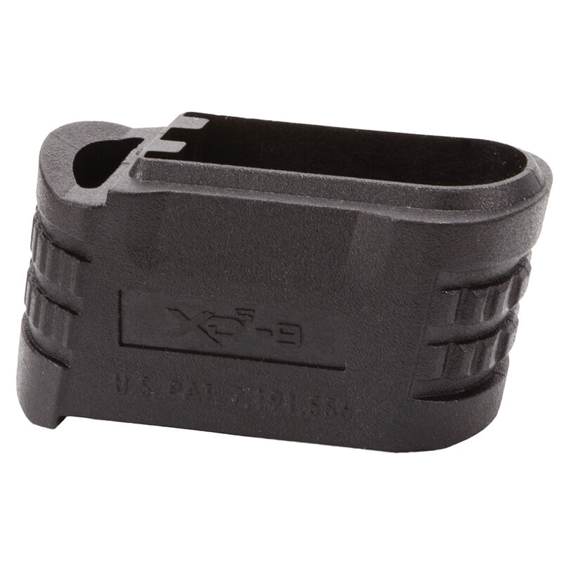 Springfield Armory XDS 9mm Luger Magazine X-Tension Sleeve for Backstrap #1 Polymer Black XDS5001