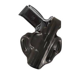"DeSantis Thumb Break Scabbard FNP-45 4.5"" Barrel Belt Holster Right Hand Black Leather 001BA31Z0"
