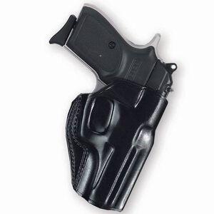 Galco Stinger GLOCK 43 Belt Holster Right Hand Leather Black SG662B