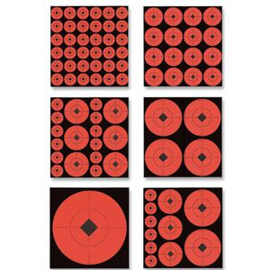 Birchwood Casey Self Adhesive Assorted Target Spots 132 Pack 33906