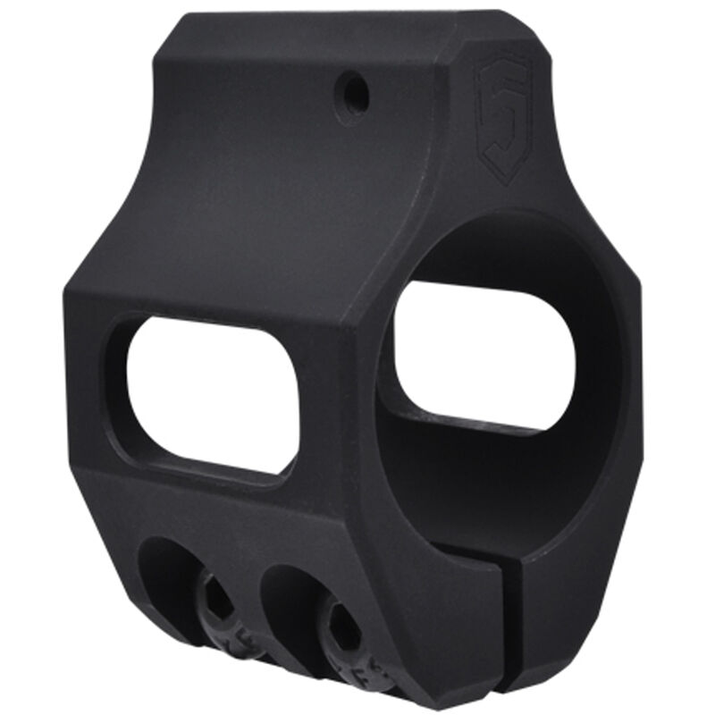 Phase 5 Weapons Systems AR-15 Steel Low Profile Clamp on 0.750 Diameter Gas Block Magnesium Oxide Finish