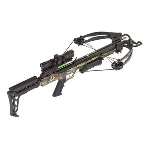 Carbon Express X-Force Blade Crossbow Kit 320 fps 4x32 Scope Camo