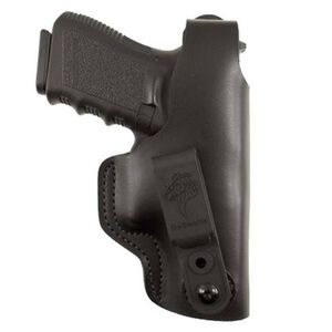 DeSantis Dual Carry II Tuckable IWB/OWB Holster Ruger EC9s Right Hand Leather Black 033BAV5Z0