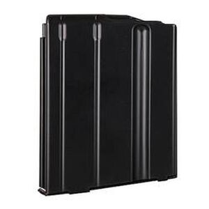 ASC LR-308/SR-25 Magazine .308/7.62 5 Rounds Stainless Steel Black 5-308-SS-BM-B-ASC