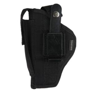 "Bulldog Case Fusion Compact Semi Auto Pistols with 2.5""-3.75"" Barrels Belt Holster Ambidextrous Nylon Black FSN-3"