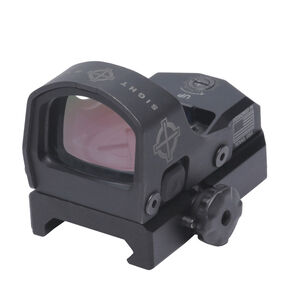 Sightmark Mini Shot M-Spec FMS 3 MOA Red Dot Reflex Sight Low/High Fixed Mount  Rubber Cover CR1632 Battery Matte Black Finish