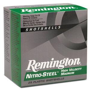 "Remington Nitro-Steel 12 Ga 3"" #4 Steel 1.25oz 250 Rounds"