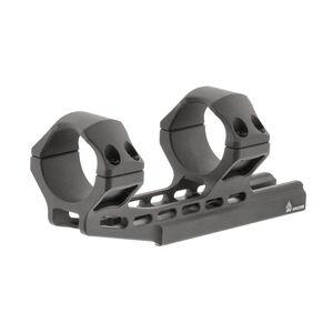 UTG ACCU-SYNC 34mm High Profile 50mm Offset Pic. Rings, Gun Metal