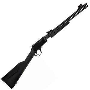 "Rossi Gallery .22 Long Rifle Pump Action Rifle 18"" Barrel 15 Rounds Polymer Furniture Polished Black Metal Finish"