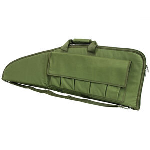 """NcSTAR 2907 Tactical Soft Rifle Case 36"""" Magazine Pouches Padded PVC Green"""