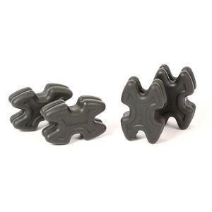LimbSaver TwistLox Limb Dampeners Narrow and Wide Split Limb Bows Black 4 Pack