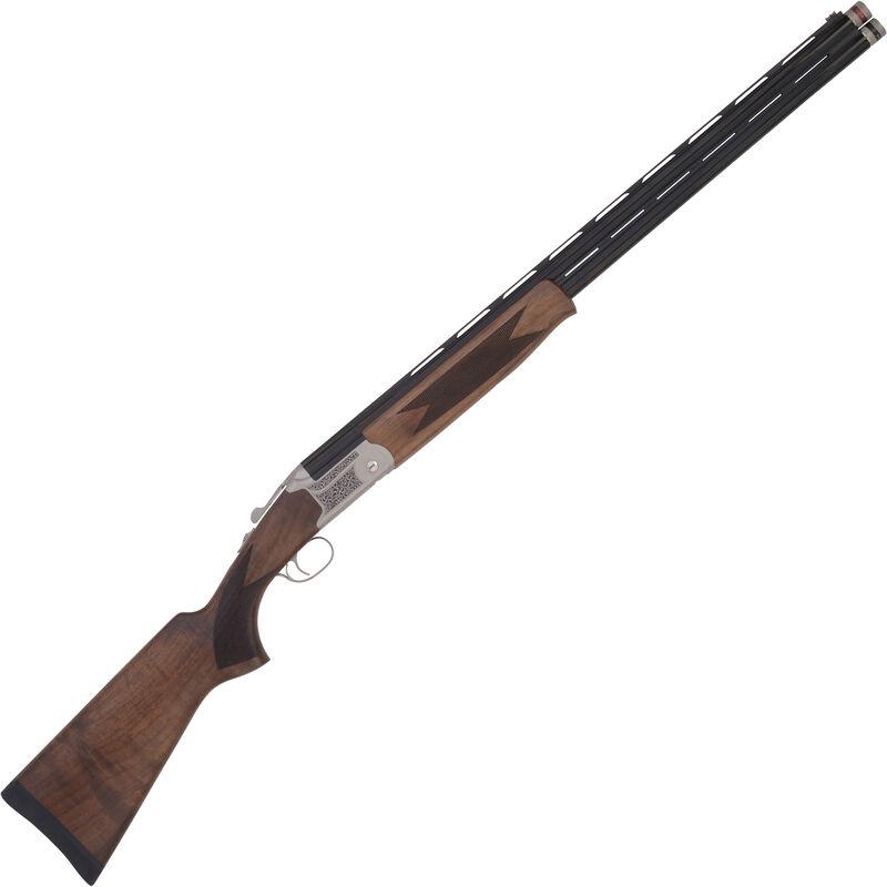 """TriStar Trap TT-15 Field .410 Bore O/U Double Barrel Shotgun 28"""" Barrels 3"""" Chambers FO Front Sight Walnut Stock Silver/Blued Finish"""