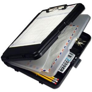 Saunders WorkMate II Letter/A4 Plastic Storage Clipboard, Black