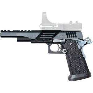 "Metro Arms SPS Vista Long Semi Auto Handgun .38 Super 5.5"" Barrel 21 Rounds 4140 Steel Frame Black Chrome Finish with Scope Mount Polymer Grips Black SPVL38SBC"