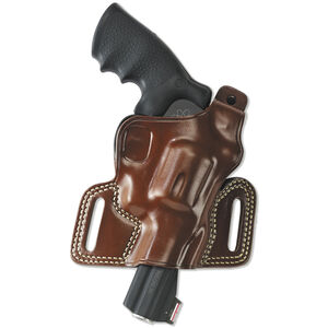 "Galco Silhouette High-Ride Holster Revolvers 2"" to 4"" Barrels Right Hand Leather Tan SIL104"