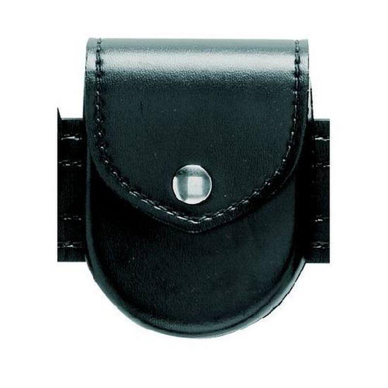 Safariland Model 90 Handcuff Pouch Top Flap Hidden Snap Basket Weave Black 90-4HS