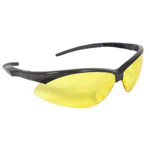 Radians Outback Glasses Amber Lenses Black Frame OBO140CS
