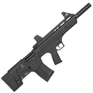"ATI Bull-Dog SGA 12 Gauge Semi Automatic Bullpup Shotgun 18.5"" Barrel 3"" Chamber 5 Rounds Fixed Synthetic Stock Matte Black Finish"