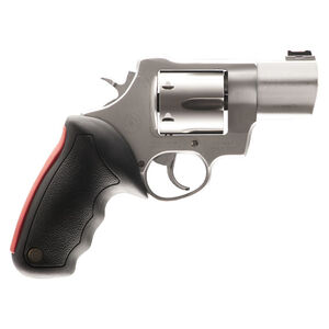 "Taurus Raging Bull 444 Multi Double Action Revolver .44 Magnum 2"" Barrel 6 Rounds Fiber Optic Front Sight/Fixed Rear Sight Rubber Grip Matte Stainless Steel Finish"