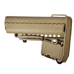 VLTOR EMOD Combo Kit, Collapsible AR-15 Stock with Buffer Tube, Buffer, Spring and Hardware, Tan