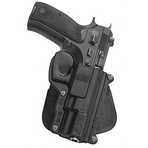 Fobus Roto CZ 75 Paddle Holster Kydex Right Hand Black CZ75RP