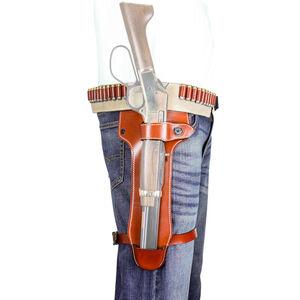 DeSantis Mare's Leg Belt Holster Fits Mare's Leg in .22LR/.22 Mag Ambidextrous Leather Tan