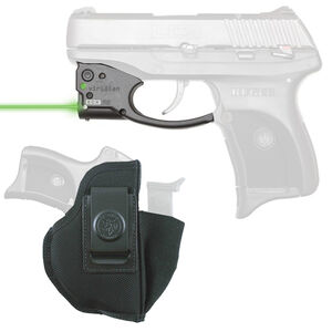 Viridian R5 Reactor Green Laser Sight with DeSantis Pro Stealth IWB Holster for Ruger LC9 Right Hand Draw Black R5-LC9-DPS