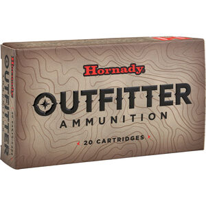 Hornady Outfitter 7mm Remington Mag Ammunition 20 Rounds GMX 150 Grains