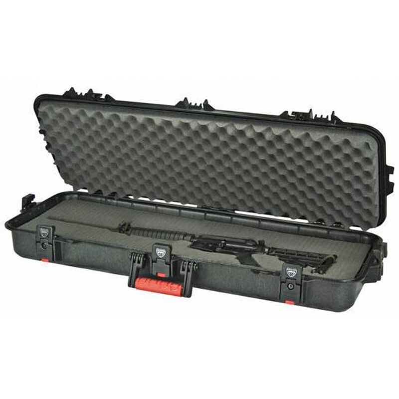 "Plano Gun Guard All Weather Tactical Rifle Hard Case 36"" Plastic Black 108361"