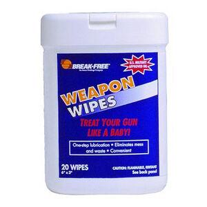 Break-Free Weapon Wipes 20 Wipes  BFIWW24