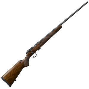 "CZ USA CZ 457 American .17 HMR Bolt Action Rifle 24.8"" Barrel 5 Rounds DBM American Style Turkish Walnut Stock Black Finish"