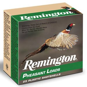 "Remington Pheasant Load 20 Ga 2.75"" #4 Lead 1oz 250 rds"