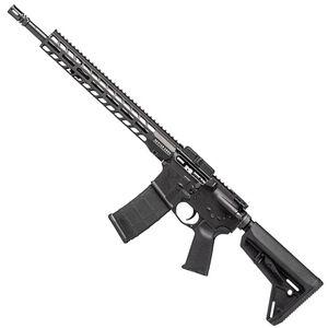 "Stag 15L Tactical Series Left Hand AR-15 Semi Auto Rifle 5.56 NATO 16"" Barrel 30 Rounds 13.5"" M-LOK Slimline Free Float Hand Guard Magpul Stock/Grip Matte Black Finish"