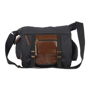 Fox Outdoor Deluxe Concealed Carry Messenger Bag Black 43-21