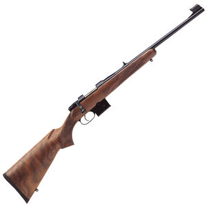 "CZ USA 527 Carbine 7.62x39 Bolt Action Rifle 18.5"" Barrel 5 Round Detachable Box Magazine Fixed Sights Carbine Style Turkish Walnut Stock Blued Finish"