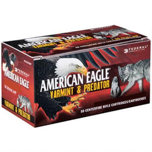 Federal American Eagle 6.5 Grendel Ammunition 50 Rounds 90 Grain Speer TNT JHP Bullet 3000fps