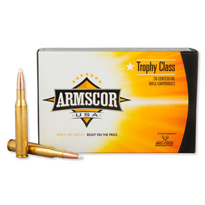 Armscor USA .270 Win Ammunition 20 Rounds PT 140 Grain