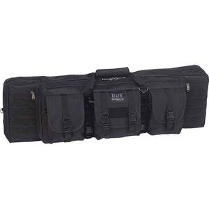 """Bulldog Tactical Rifle Case Polyester Canvas 43"""" Black"""