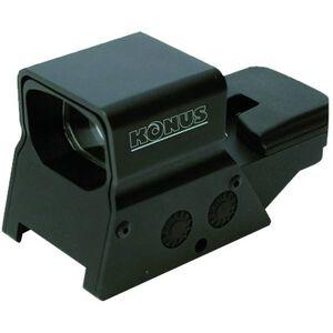 Konus Sight-Pro R8 Multi Reticle, Rechargeable Sight Rechargeable Red/Green Dot With 8 Reticles