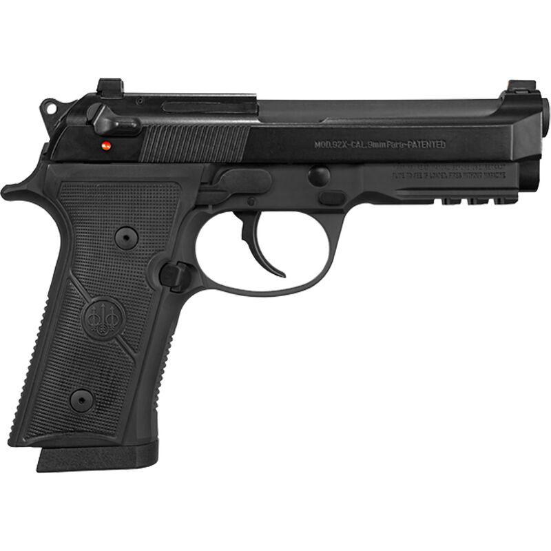 "Beretta 92X FR Full Size Type F 9mm Luger SA/DA Semi Auto Pistol 4.7"" Barrel 10 Rounds Combat Sights Accessory Rail Safety/Decocker Synthetic Grips Black Finish"