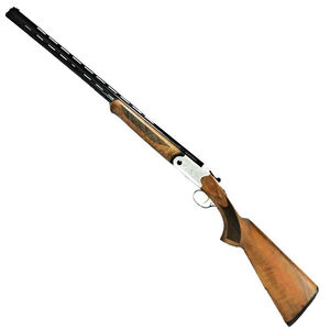 "ATI Crusader Field 28 Gauge Over/Under Shotgun 26"" Barrels 2 Rounds Fiber Optic Front Sight Turkish Walnut Wood Stock"