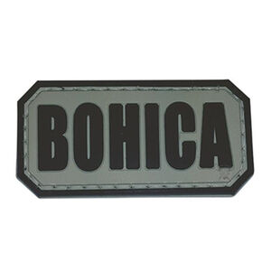 5ive Star Gear PVC Morale Patch BOHICA
