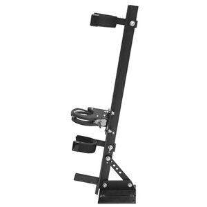 Great Day Universal Quick Draw Vertical Locking Gun Rack Aluminum Black