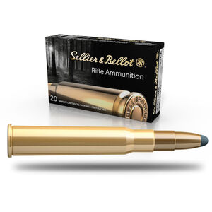 Sellier & Bellot 8x57mm JRS Ammunition 20 Rounds SPCE 196 Grains SB857JRSA