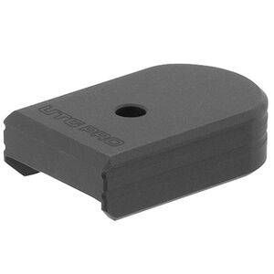 UTG PRO +0 Base Pad, CZ P07/P10C, Matte Black Aluminum