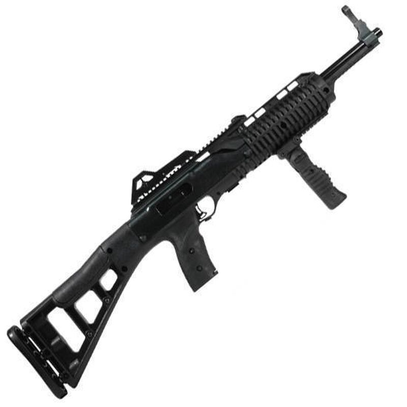 "Hi-Point Carbine Semi Auto Rifle .45 ACP 17.5"" Barrel 9 Rounds Polymer Stock Black Finish With Forward Grip 4595TSFG"