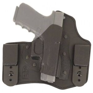 DeSantis 105 The Intruder IWB Holster Ruger LC9 Right Hand Leather/Kydex Black 105KAV5Z0
