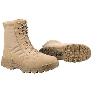 "Original S.W.A.T. Classic 9"" Men's Boot Size 10.5 Regular Non-Marking Sole Leather/Nylon Tan 115002-105"
